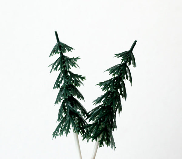 Pine Tree Cupcake Picks
