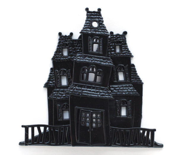 Haunted House Cake Topper for Halloween