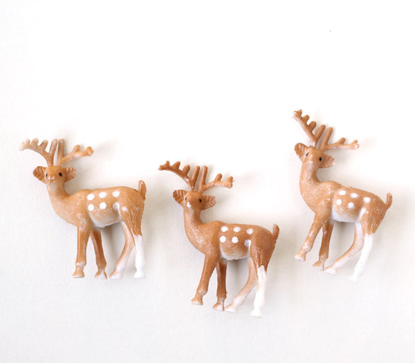 Little Deer Cupcake Toppers