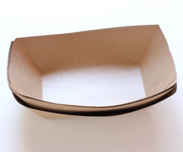 Kraft Food Tray - Large Size