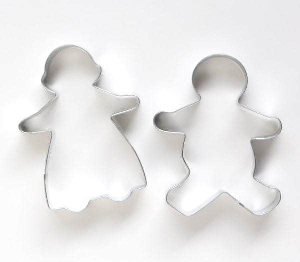 Gingerbread Girl & Boy Cookie Cutters