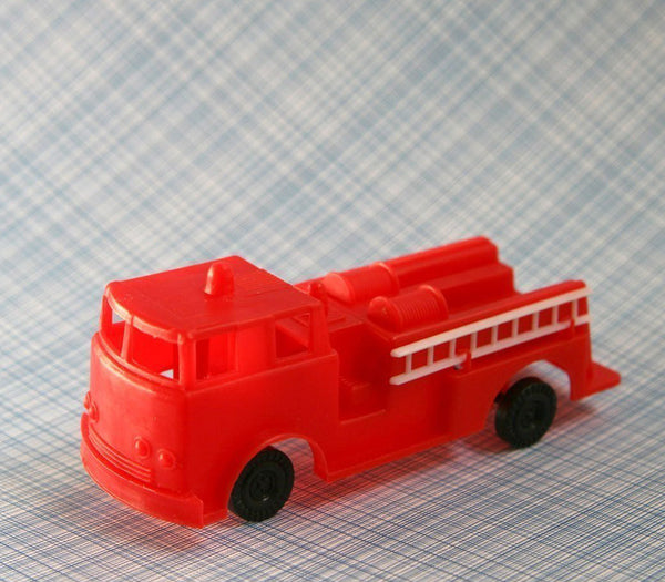 Fire Engine Cake Topper