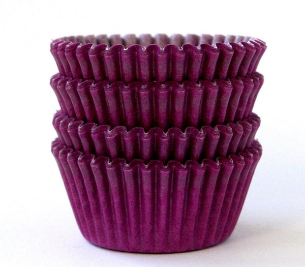 MINI Purple Cupcake Liners