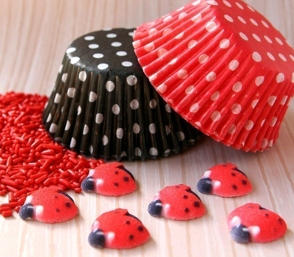 Ladybug Cupcake Kit for 24 Cupcakes