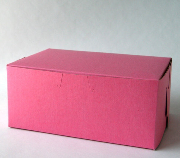 Pink Pastry or Bakery Boxes