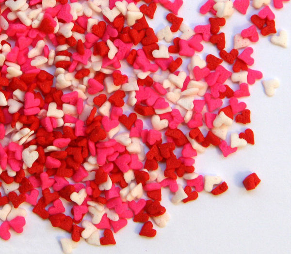 Valentine's Mini Heart Sprinkles