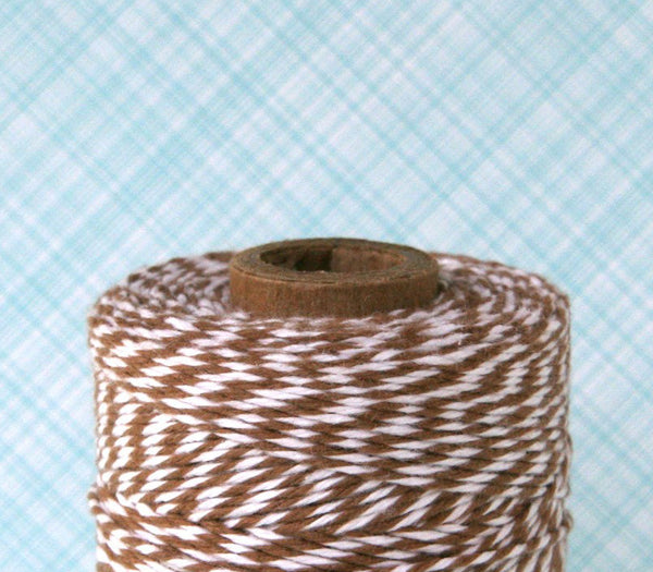 Brown Baker's Twine on 240 yard spool