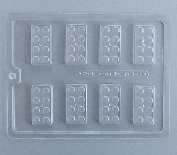 toy block chocolate mold