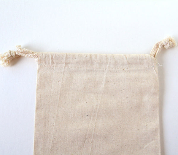 Muslin Gift Bag / Cotton Fabric Bag