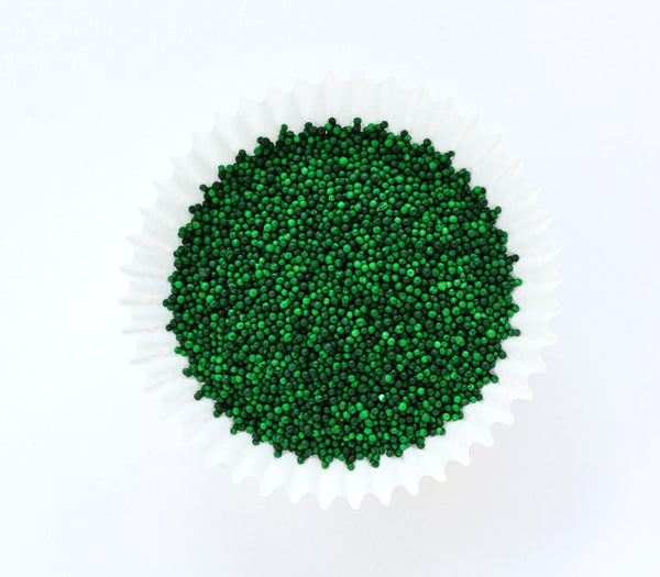 Green NonPareils Sprinkles