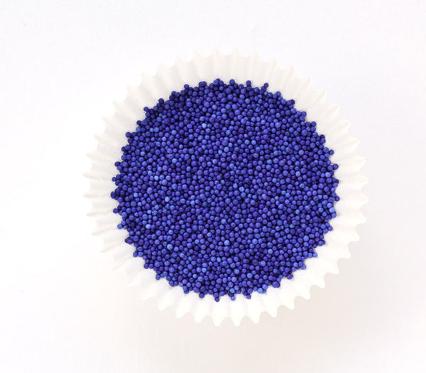 Purple NonPareils Sprinkles