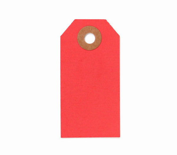 Red Parcel Tags