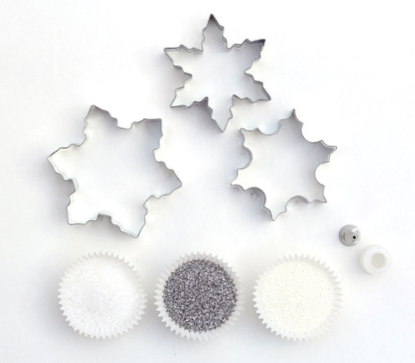 Snowflake Cookie Decorating Kit