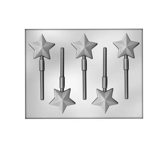 Star Chocolate Lollipop Mold
