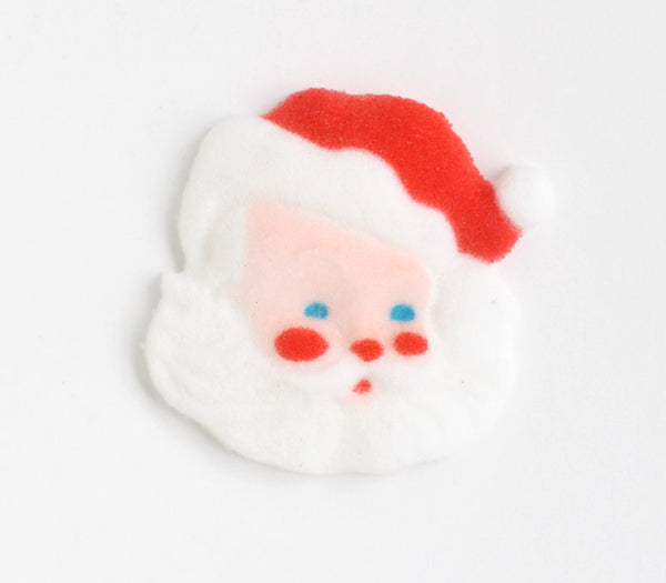 Santa Edible Sugar Decorations