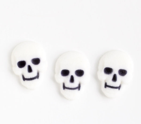 Skull Edible Sugar Decorations