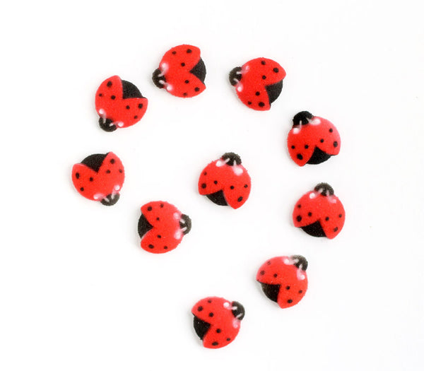 Ladybug Sugar Decorations