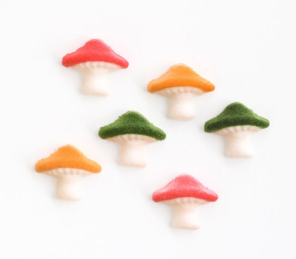 Mushroom Sugar Decorations