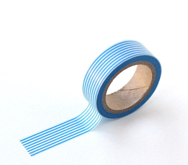 Blue Stripe Washi Tape