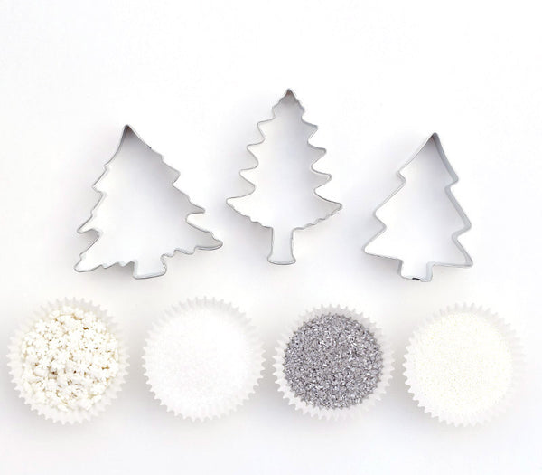 Winter Tree Cookie Decorating Kit