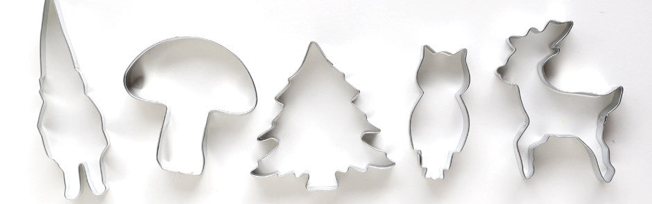 Woodland Cookie Cutters
