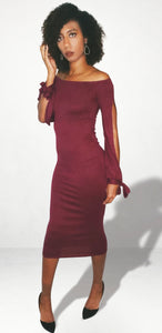 Power Moves Bodycon Dress