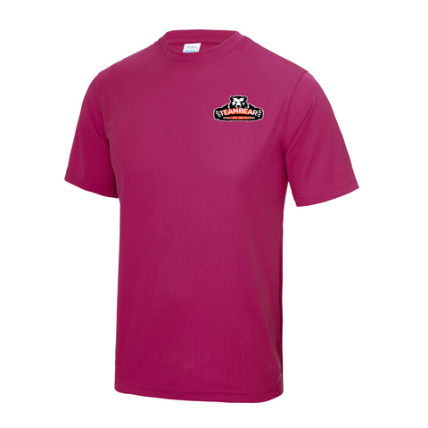 Hot Pink Cool Tech T-Shirt