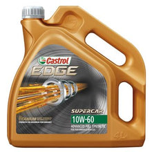 Load image into Gallery viewer, CASTROL EDGE 10W 60(4LTR)