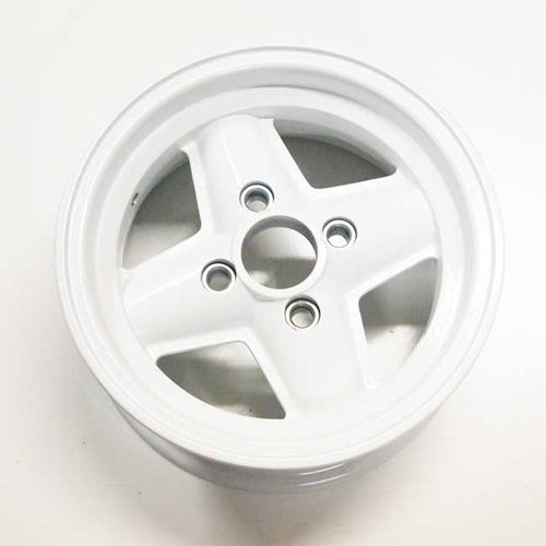 Revolution 4 Spoke FORD GRP4 WHITE
