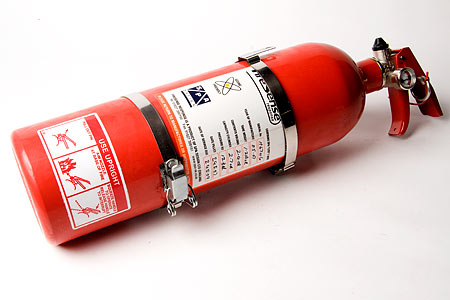 Fire Extinguisher Hand Held 2.4ltr