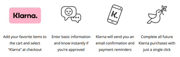how to pay for NIRA with Klarna