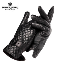 Load image into Gallery viewer, New autumn and winter gloves men ,Genuine Leather,leather gloves men,male leather gloves,leather gloves men white,Free shipping
