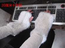 Load image into Gallery viewer, Diva Girl Ms. Mink Gloves