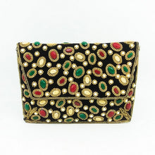 Load image into Gallery viewer, Diva Girl Beaded Clutch Purse