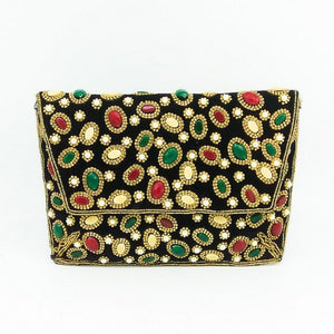 Diva Girl Beaded Clutch Purse