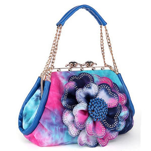 Diva Girl Flower Art Bag