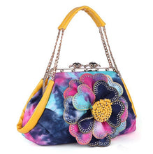 Load image into Gallery viewer, Diva Girl Flower Art Bag