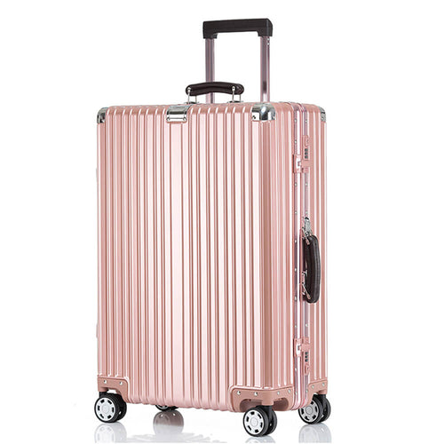Kroeus Carry Case Suitcase TSA Lock Travel Business Trip Large Capacity Classic 8 wheels Lightweight