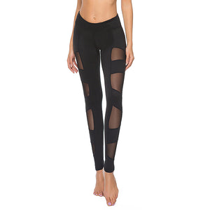 Women's High Waist Capri Workout Yoga Pants Running Tights Active Leggings