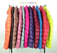 Load image into Gallery viewer, Women Regular Winter Down Coat ( S - 3XL)