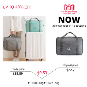 HMUNII Hot Fashion NEW WaterProof Travel Bag Large Capacity Bag Women Folding Bag Unisex Luggage Travel Handbags Free Shipping