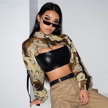Load image into Gallery viewer, malianna Autumn Spring 2018 Women Casual Camouflage Pullovers