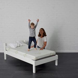Bunk bed mattress with family