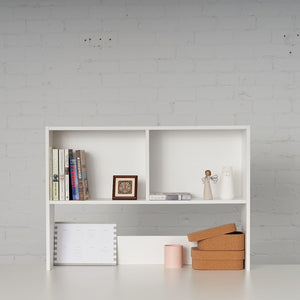 Small bookcase for display storage on loft bed desk study solutions.