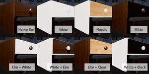 elevated under bed drawers finishing options