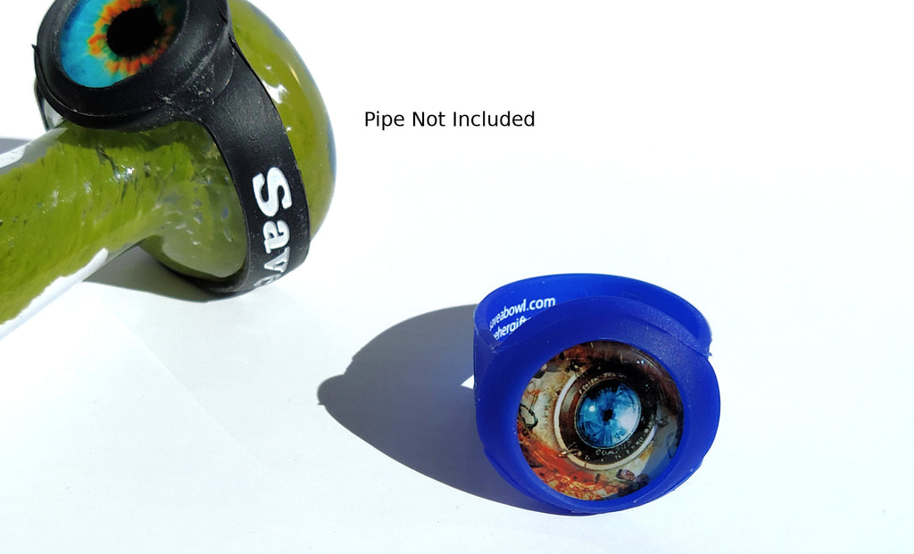 1 pack eyeball cabochon bowl saver(save-a-bowl) for smoking pipes