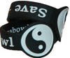 2 Pack Black & White Yin Yang Bowl Saver for Glass Pipe