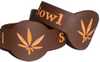 2 Pack Brown & Tan Leaf Bowl Saver for Tobacco pipe
