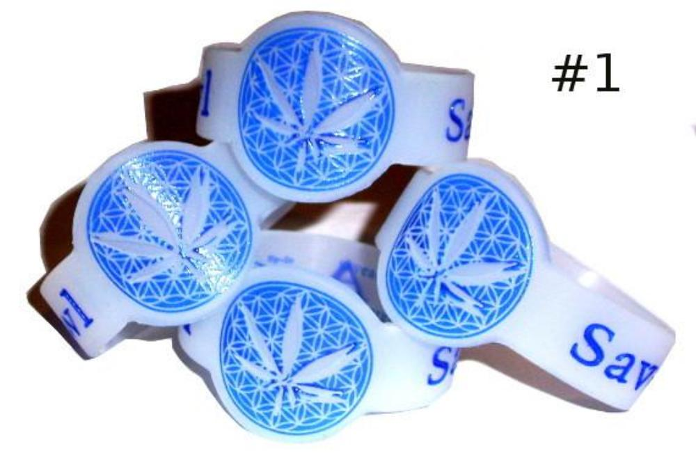 Discount Blue Leaf Bowl Savers for glass pipe
