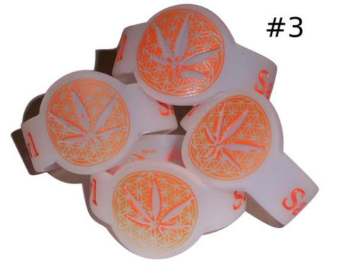 Discount Orange Leaf Bowl Savers for glass pipe